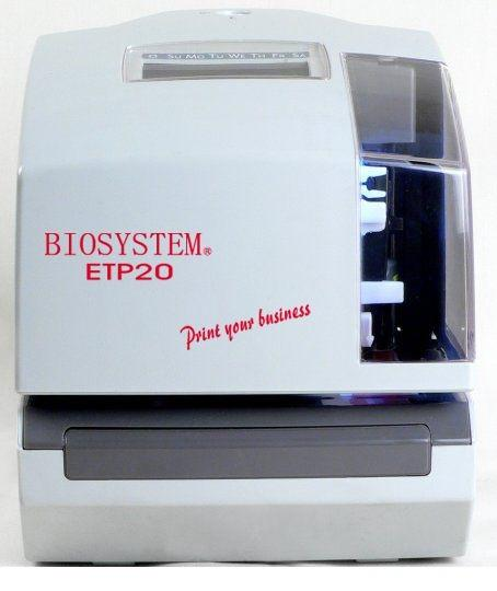 Time & Date Stamp Printer - ETP20