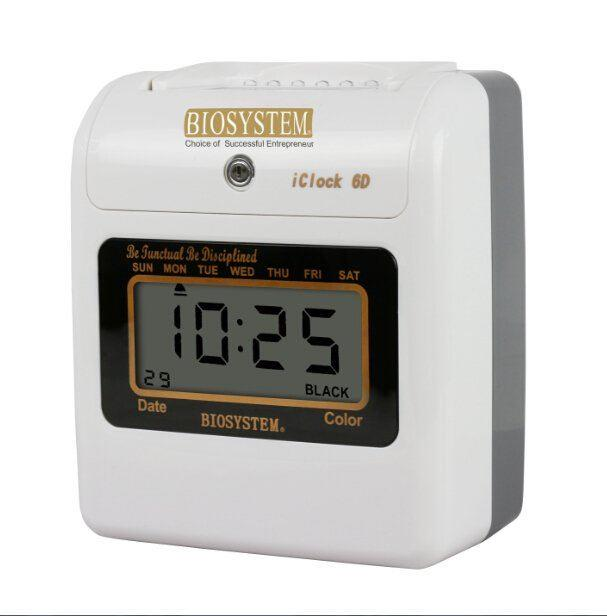 Time recorder iClock6D Punch Card Machine (Digital)