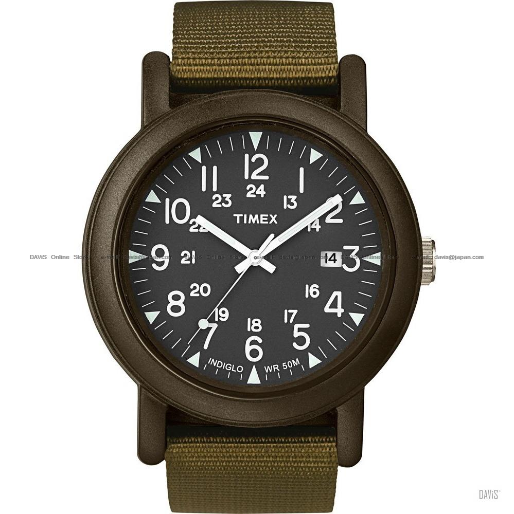 TIMEX T2N363 (M) Originals Camper nylon strap olive green *Best Offer*