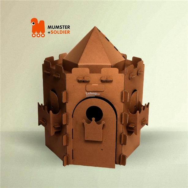 Tiny Castle Playhouse for Kids / Gift / Decoration