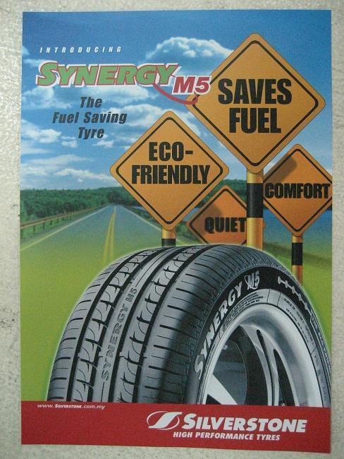 New Tire Silverstone Synergy M5 Size 205-45-16