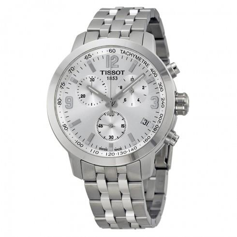 TISSOT Swiss T0554171103700 PRC 200 Chronograph Mens Watch
