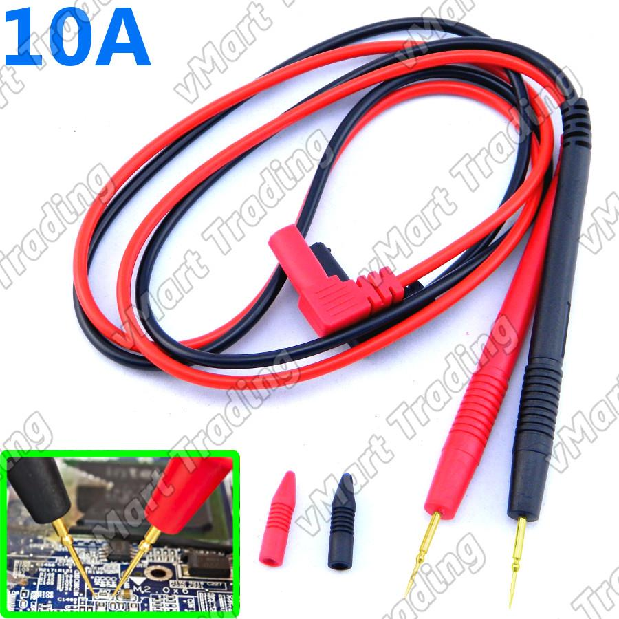 TL-N1010 Test Lead with Super Fine Needle Tip for Multimeter [10A]