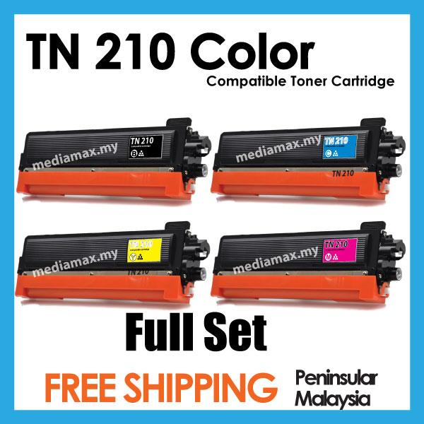 TN210 Brother Compatible MFC9010CN MFC9120CN MFC9320CW Color Laser