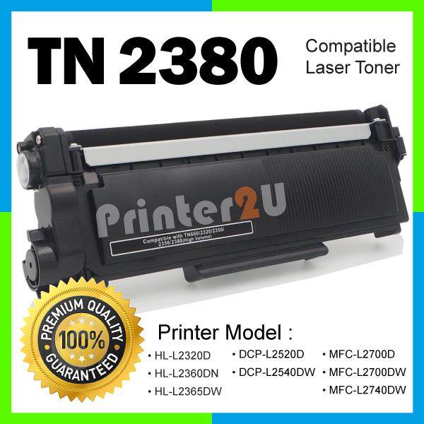 TN2380 Compatible Brother HL 2300 2360 MFC 2700D 2700DW 2740 2740DW