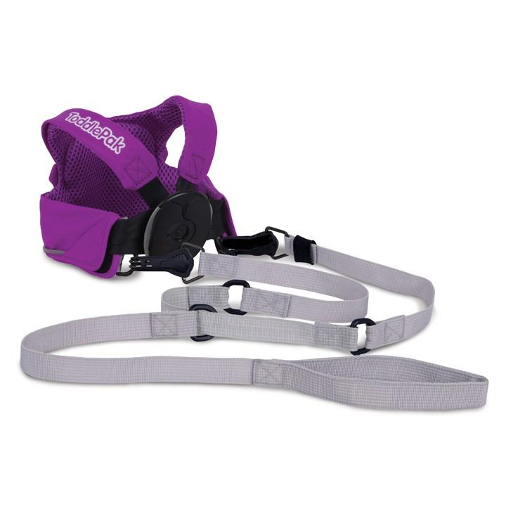 ToddlePak Purple - Ollie Harness 100% Original