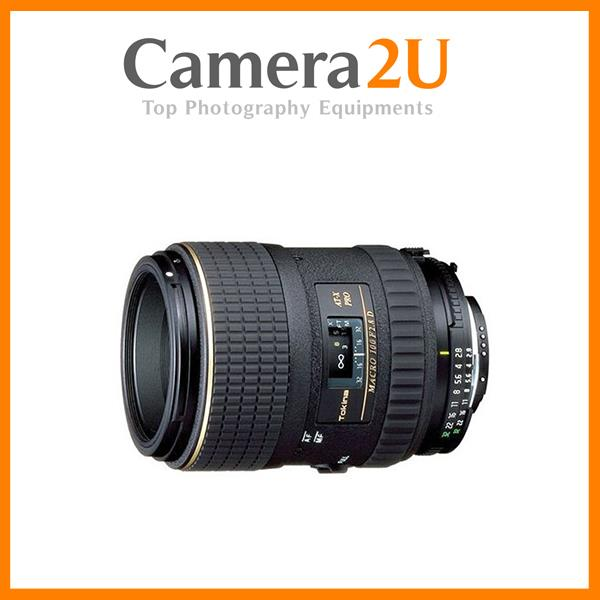 NEW Tokina AT-X M100 AF 100mm F/2.8 Lens for Nikon Mount