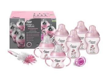 Tommee Tippee Closer to Nature Starter Set Pink