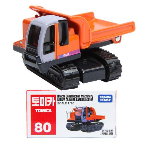 Tomy Tomica Diecast # 80 - Hitachi Construction Machinery Rubber NEW