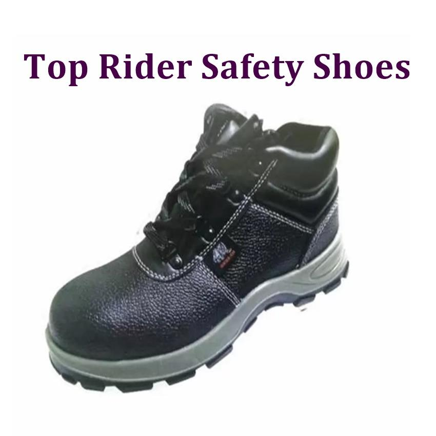 Top Rider PU Safety Shoes 5100SP- Black