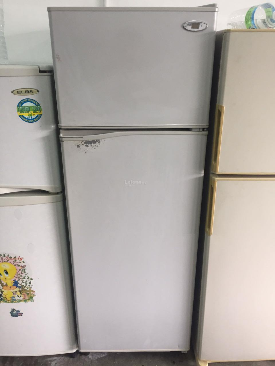 Toshiba 2 Doors Peti Sejuk Freezer Refurbish Recondition Refrigerator