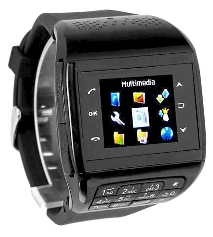 Touch Screen Dual SIM Mobile Phone Watch (WP-Q8B).