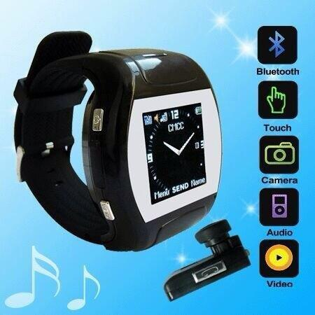 Touch Screen Watch Phone With Video Camera and Bluetooth (MQ 007)