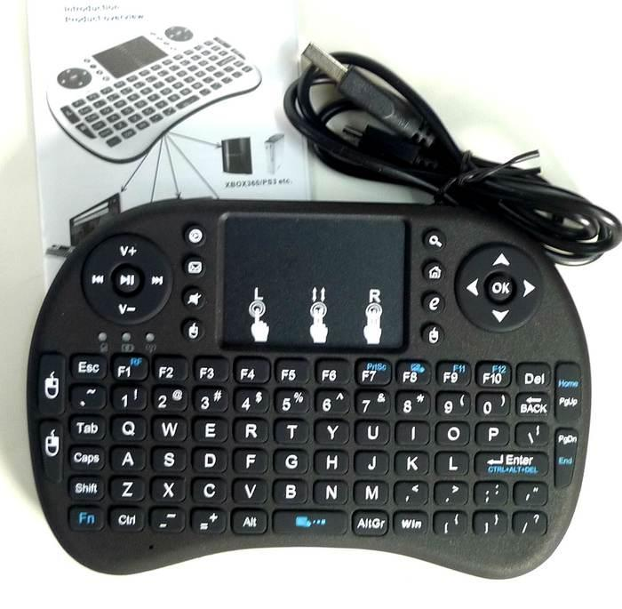 Touchpad Mini Keyboard Wireless RF 2.4GHz remote control mouse