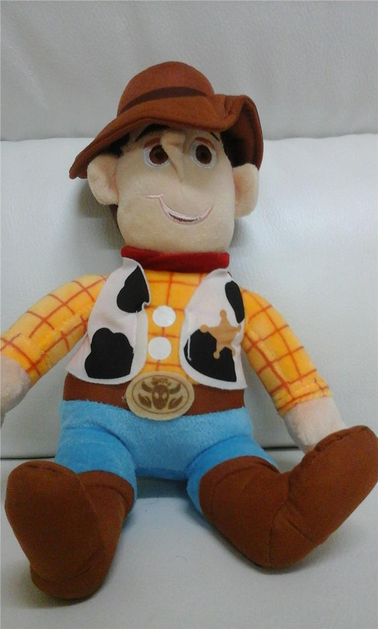 "toy story woody soft toy 12"" high"