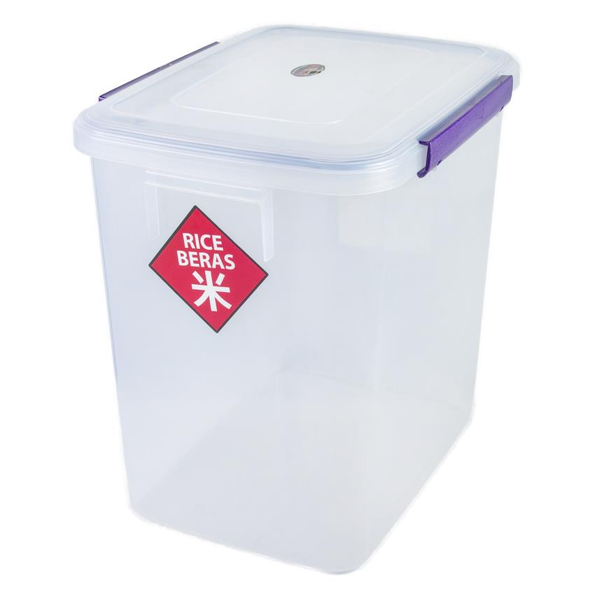 Toyogo T9902 Double Side Latch Air Tight Storage Food Container(Large)