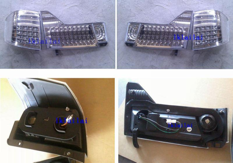 Toyota Alphard '02-'05 LED Tail Lamp Clear Lens [TY81-RL06-U]