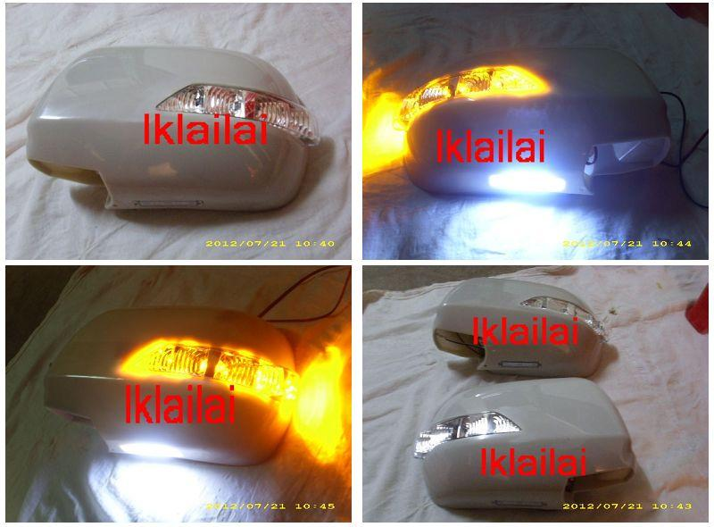 Toyota Alphard Estima 02-07 Side Mirror Cover w LED Signal & Foot Lamp