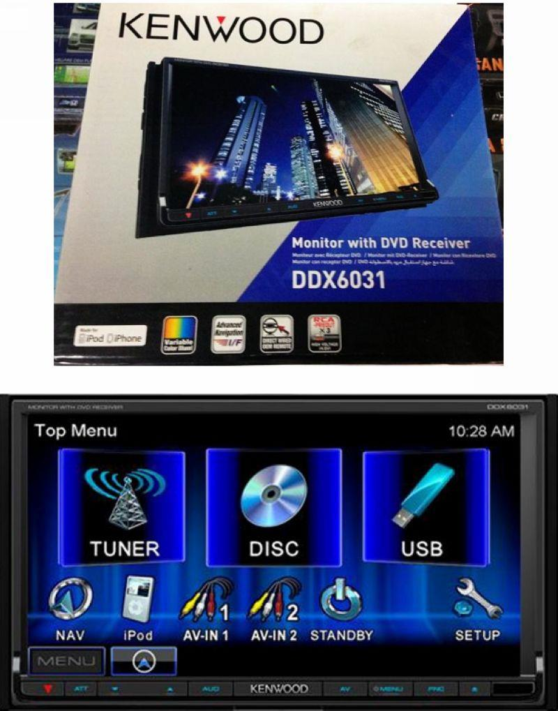 Toyota Alphard/Wish Kenwood DDX6031 7inch DVD Player USB Touch Screen