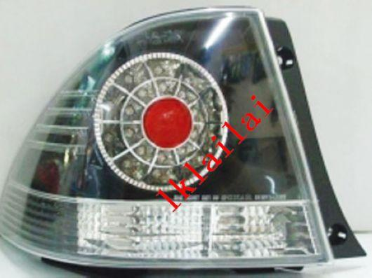TOYOTA ALTEZZA / IS200 '01-04 LED TAIL LAMP+Reverse Lamp [Black/Red]