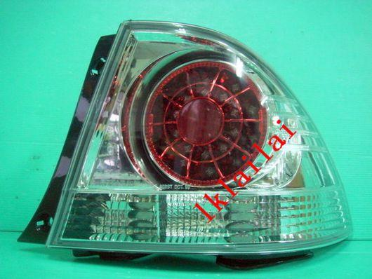 TOYOTA ALTEZZA / IS200 '01-04 LED TAIL LAMP+Reverse Lamp [Clear/Red]