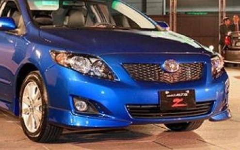 Toyota Altis '08 Type Z Full Set Skirting - Body Kit