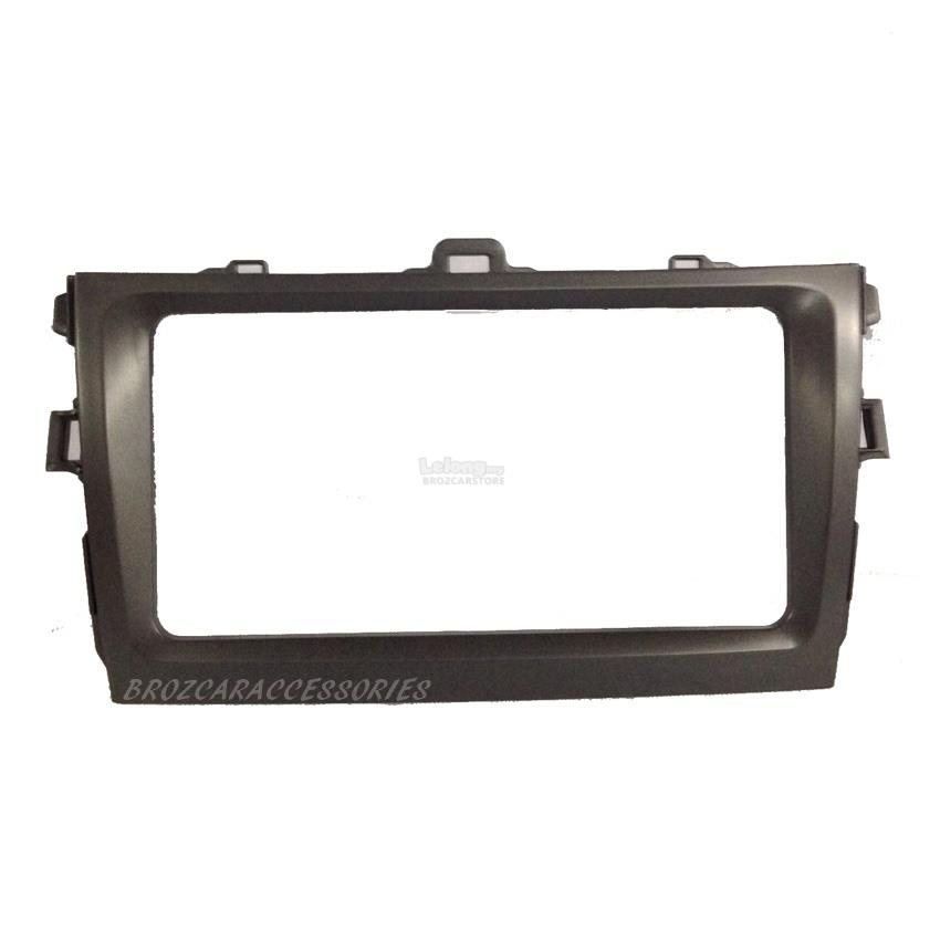 Toyota Altis 2007-2012 Double Din Car Player Casing Panel