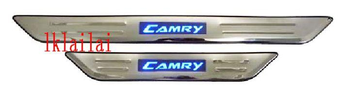 TOYOTA CAMRY '06 Door / Side Sill Plate With LED Light [4pcs/set]