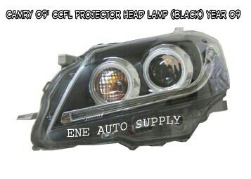 Toyota Camry 09' Projector Head Lamp with CCFL & DRL