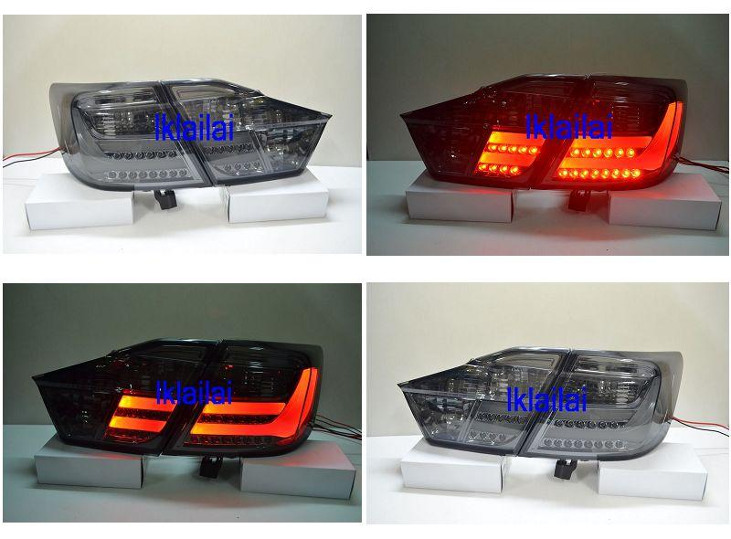 Toyota Camry 2012 LED Light Bar Tail Lamp Smoke [4pcs/set]