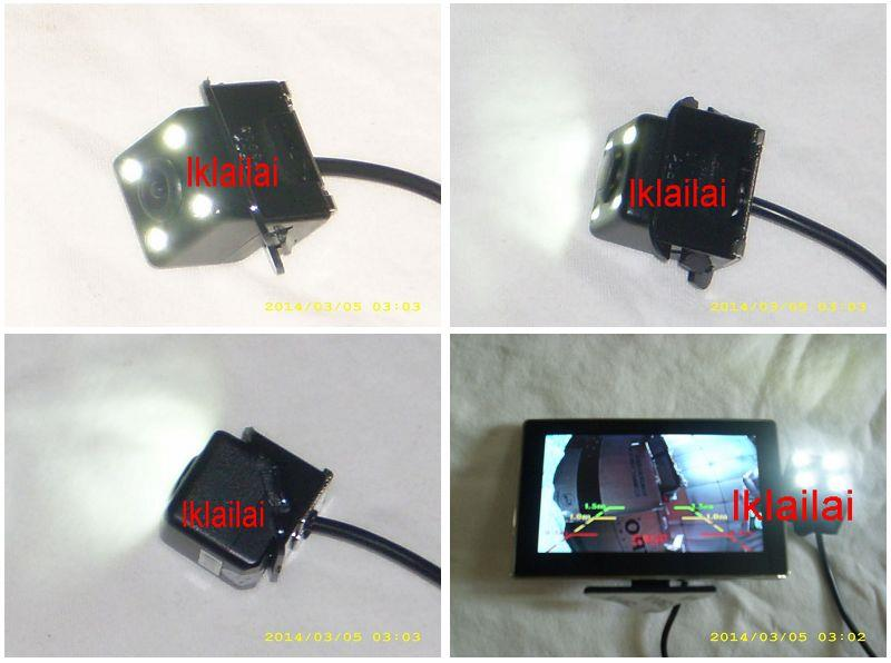 Toyota Camry LED Reverse Camera Warning Line / Night Version