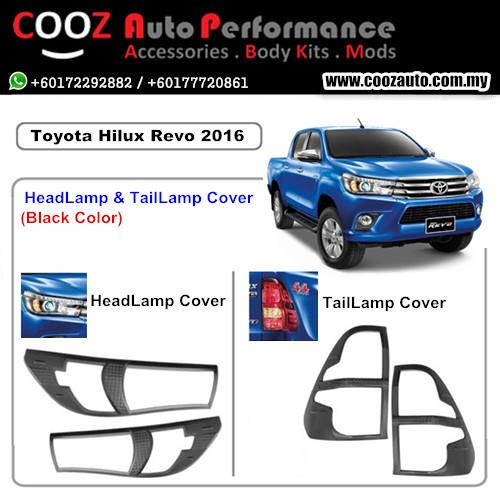 TOYOTA HILUX REVO 2016 HeadLamp & TailLamap / Head & Tail Lamp Cover