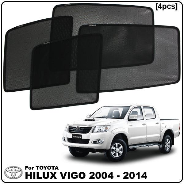 TOYOTA HILUX VIGO 2004-2014 SMART SHADE UV Proof OEM Clip On Sun Shade