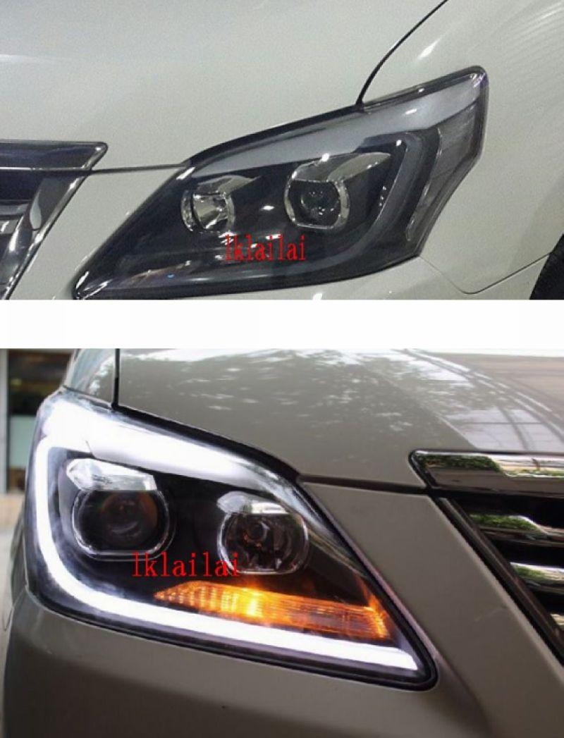 Toyota Innova '12-14 LED DRL R8 Projector Head Lamp