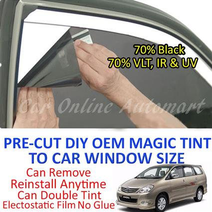 Toyota Innova 2002 - Present Magic Tinted Solar Window ( 6 Windows ) 7