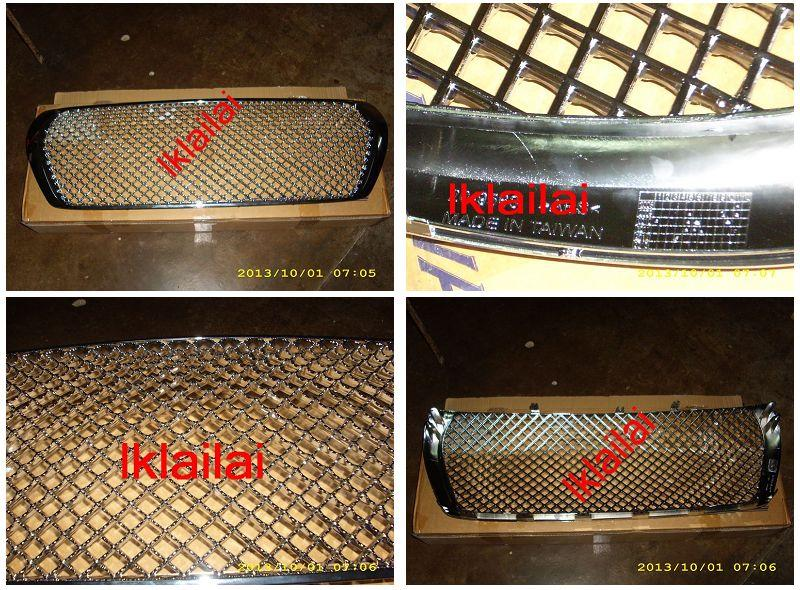 Toyota Landcruiser `08 FJ200 Front Grille Bentley Type All Chrome