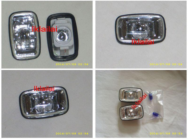 Toyota Landcruiser FJ100 `98-`06 Side Lamp Crystal