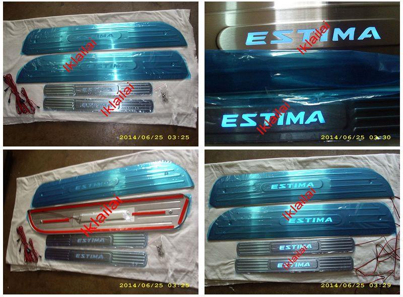 Toyota Previa '02-07 Side / Door Sill Plate LED [4pcs/set]