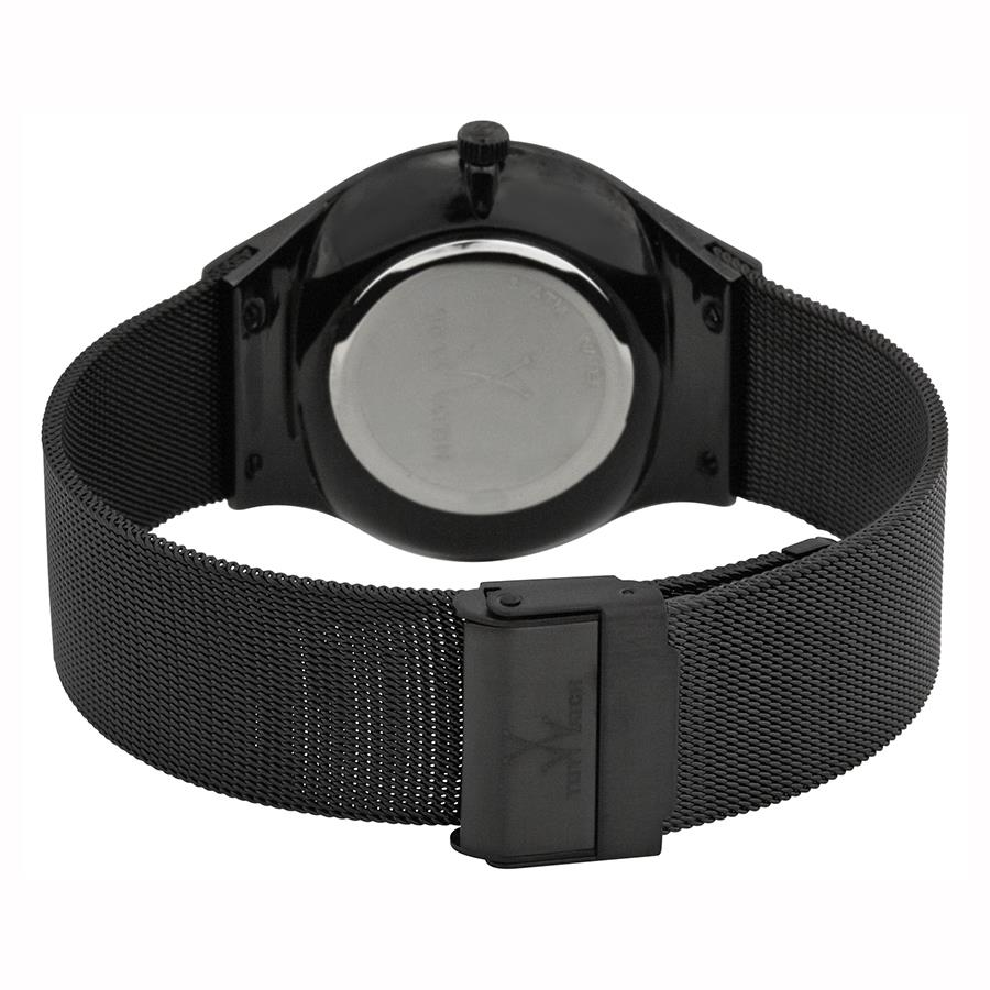 ToyWatch Mesh Only Time - Black PVD