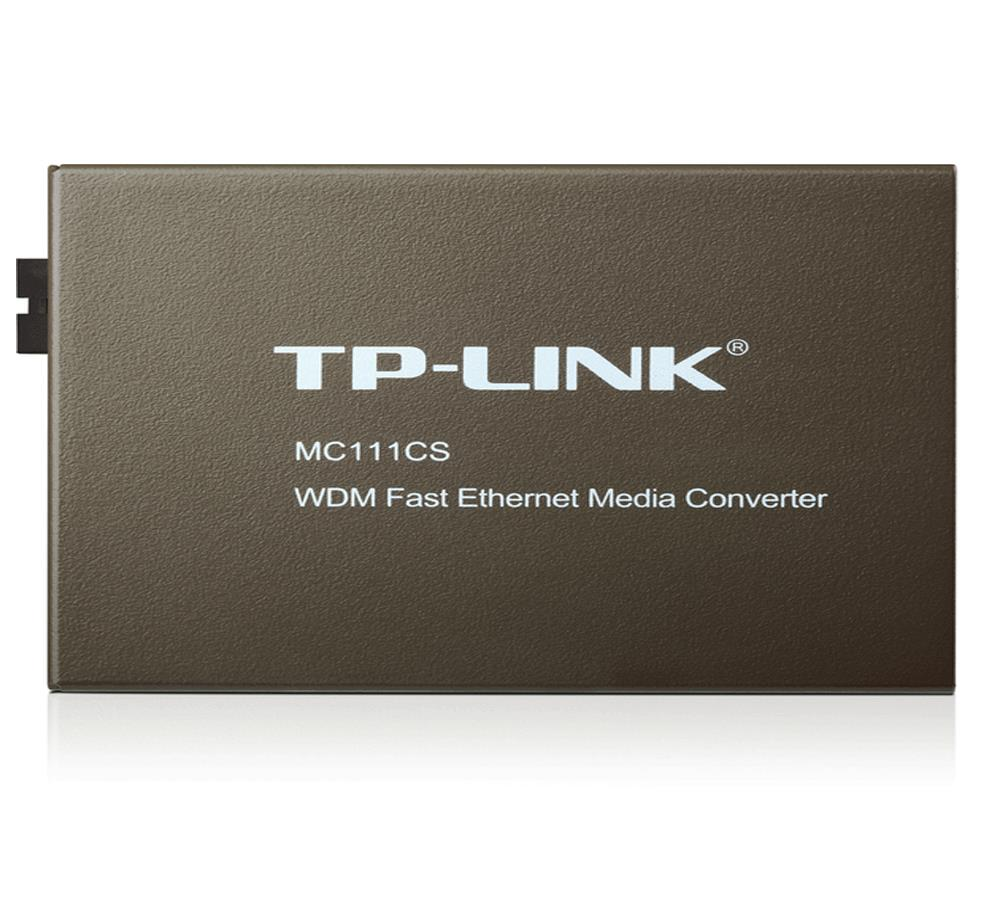 TP®-Link 10 / 100Mbps WDM Media Converter MC111CS (TP-Link Warranty)