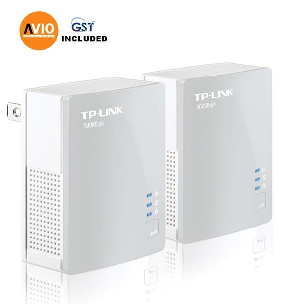 TP-Link Tplink TL-PA4010P Kit PA4010P 4010 Powerline Ethernet Adapter