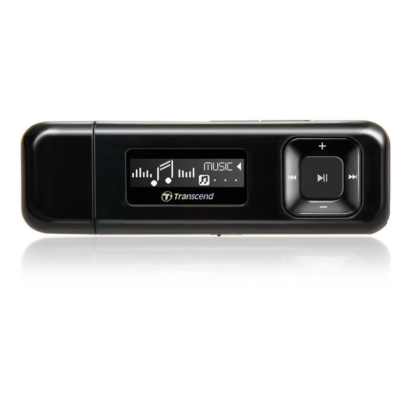 Transcend Digital Music Player 8GB MP330 MP3 Player - Black