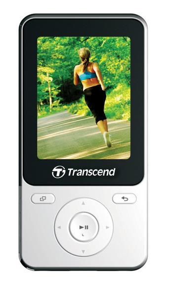 TRANSCEND DIGITAL MUSIC PLAYERS MP710 MP3 PLAYER ( WHITE )