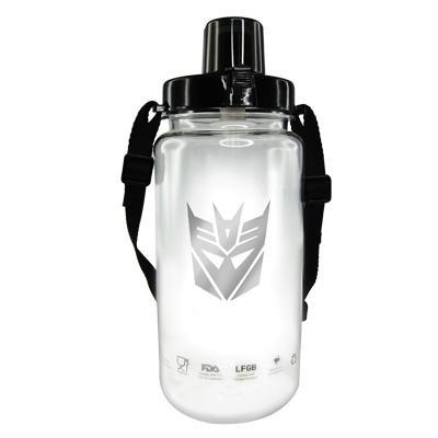 TRANSFORMERS LOGO 1500ML TRITAN BOTTLE * BPA FREE