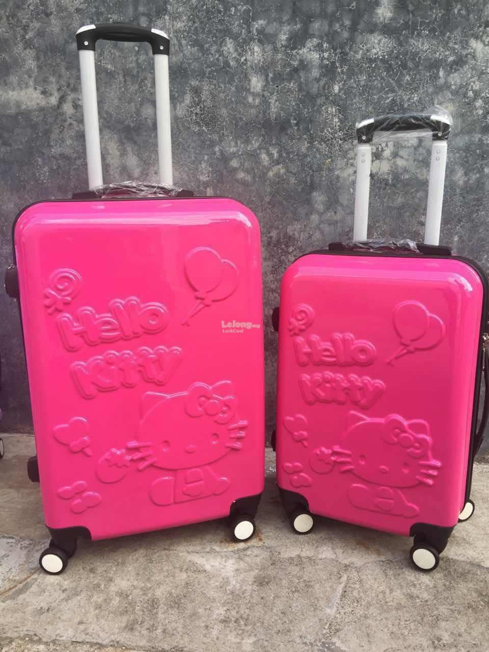 Travel Luggage Bag Cute Hello Kitty (end 8/31/2017 11:15 AM)
