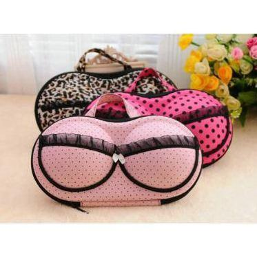 Travel portable storage bag underwear Bra