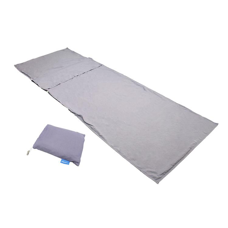 Travel Sleeping Bed Sheet Cover Outdoor Camping Hotel Use [Single]
