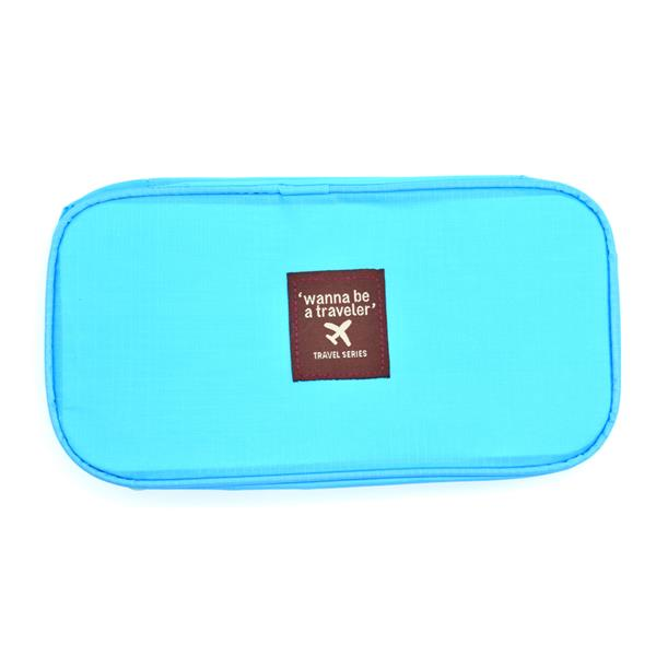 Travel Underwear Organizer Bag (Blue)
