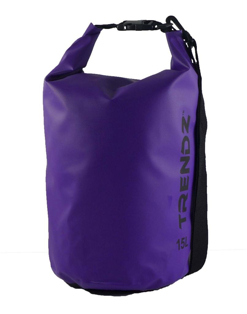 Trendz 15L Waterproof Dry Bag (Purple)