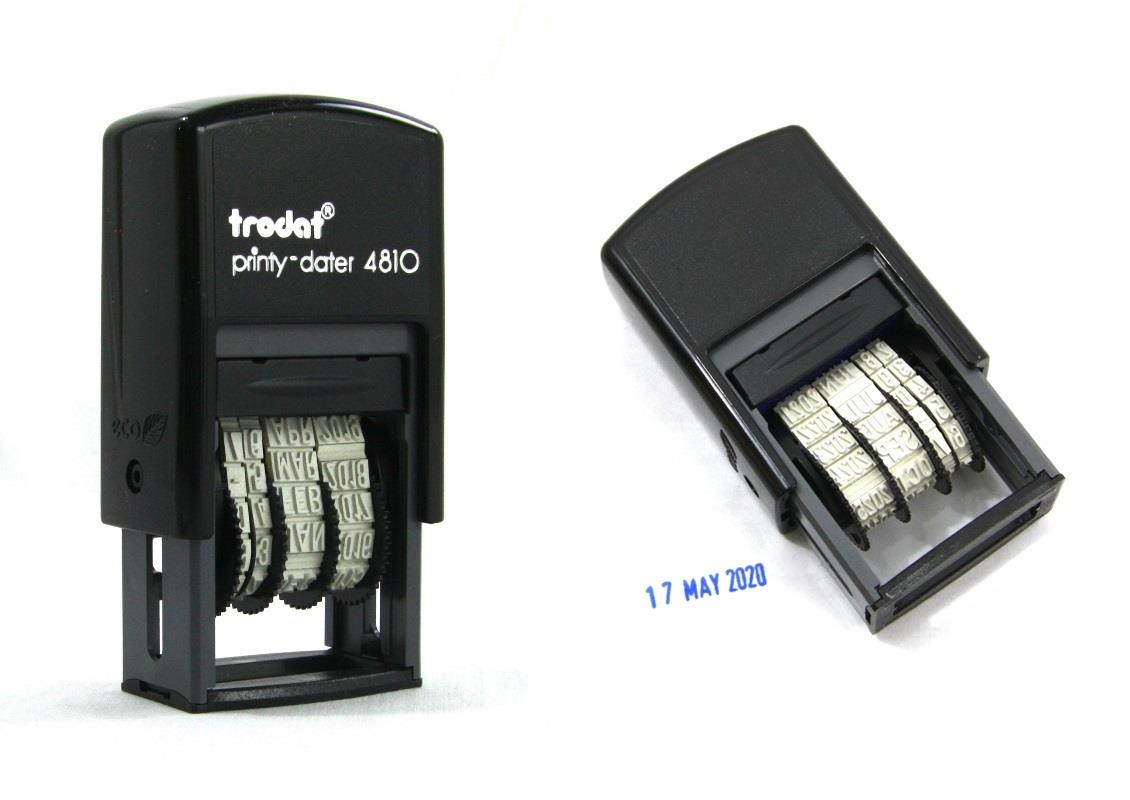 Trodat Self Inking Date Stamp